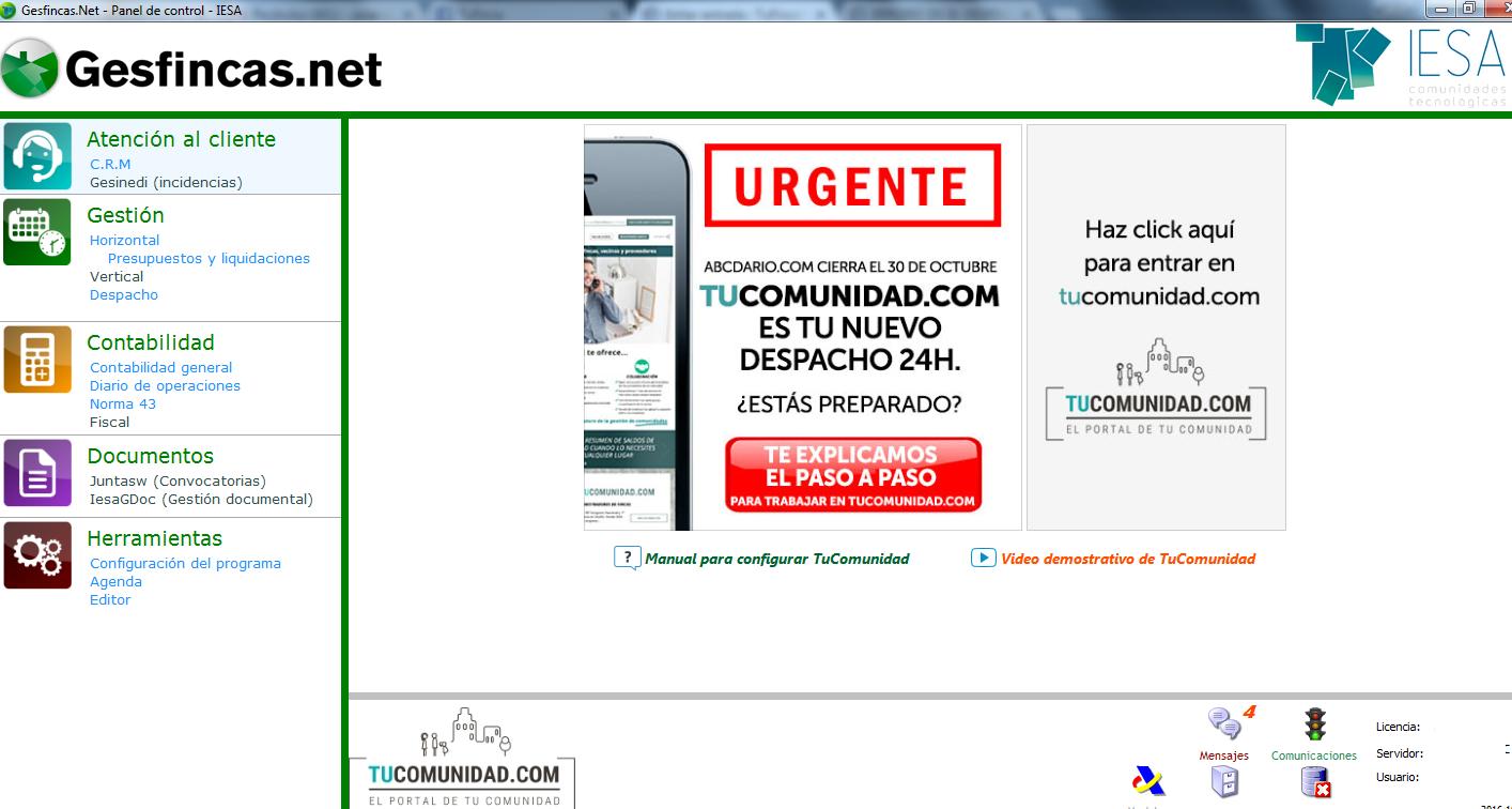 gesfinca.net versión nueva programa administración de ficnas