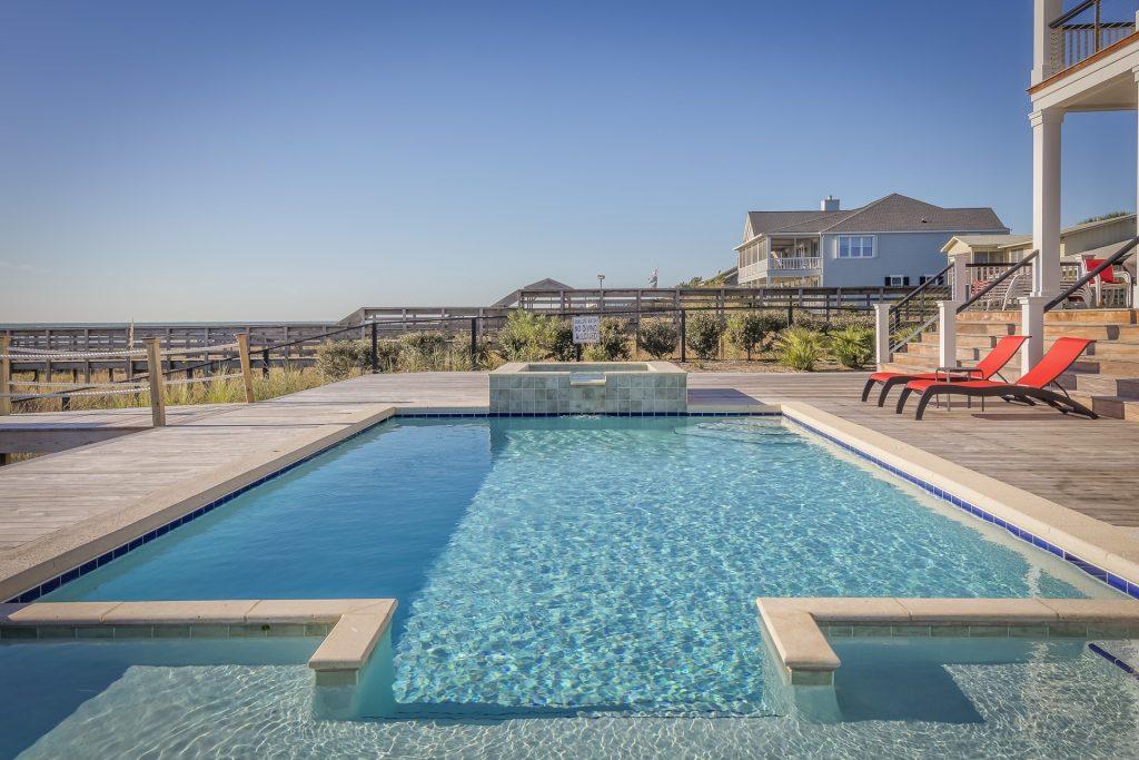 Regulación en la piscina de la comunidad.